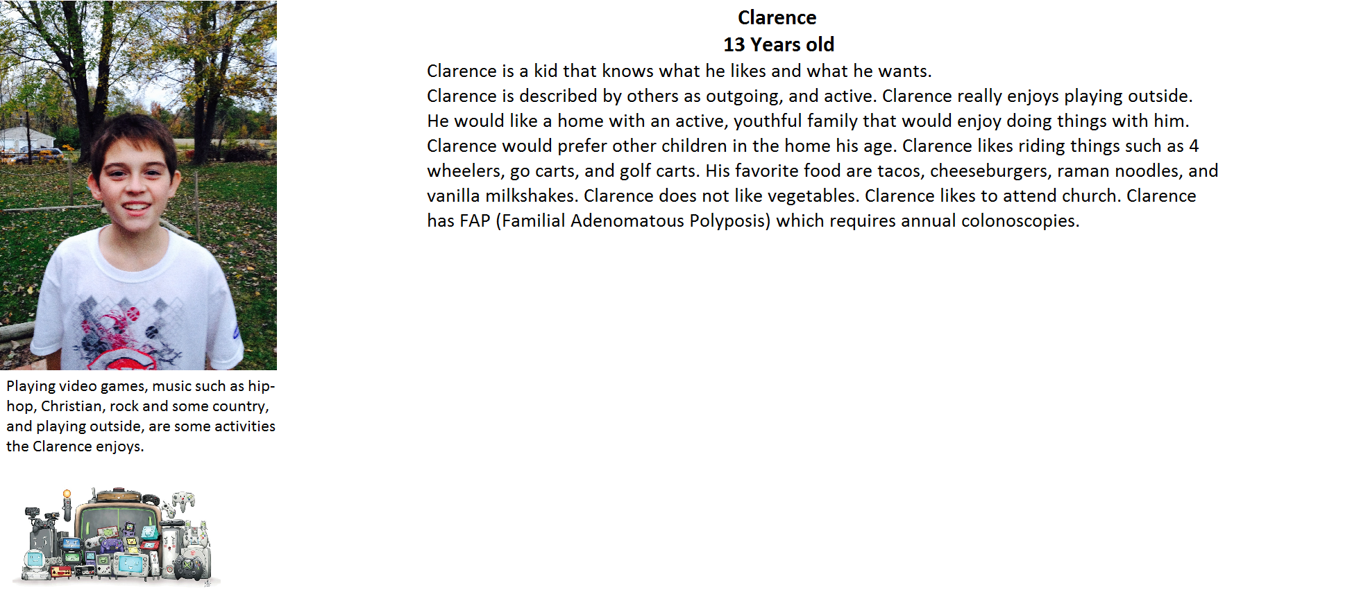 clarence 2