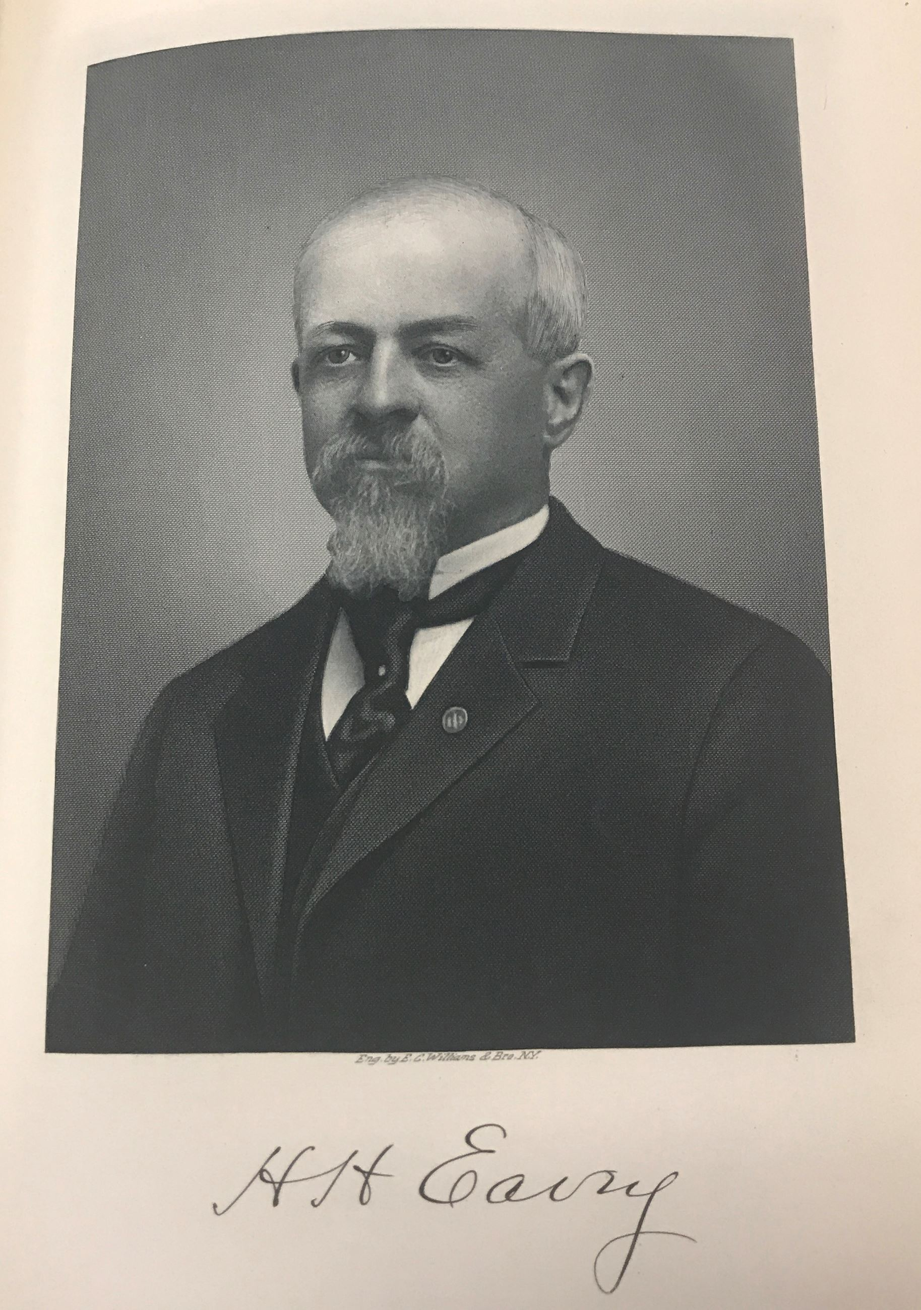 Image of H.H. Eavey from History of Greene County Ohio book