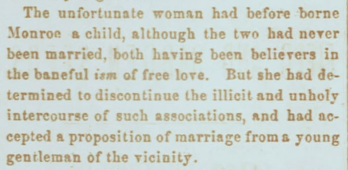 Excerpt from the Xenia Sentinel, dated November 11, 1864 (JPG)