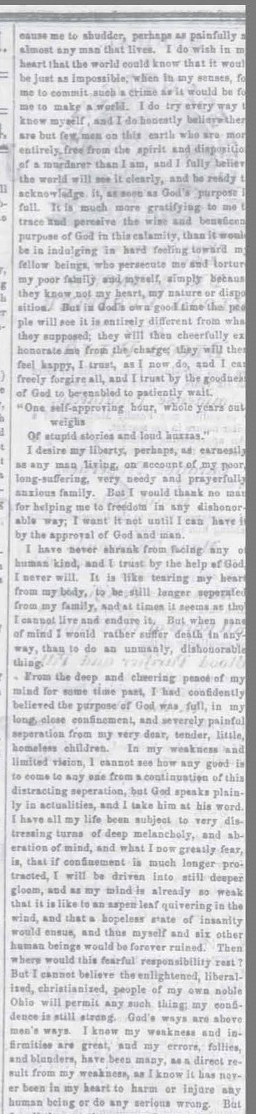 Part 2 of Article from the Xenia Sentinel dated November 25, 1864 (JPG)